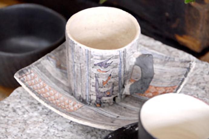 桧佐陶ギャラリーにある、駒沢 博司様の作品